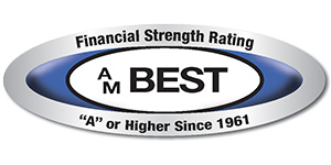 A.M. Best A or Higher Logo